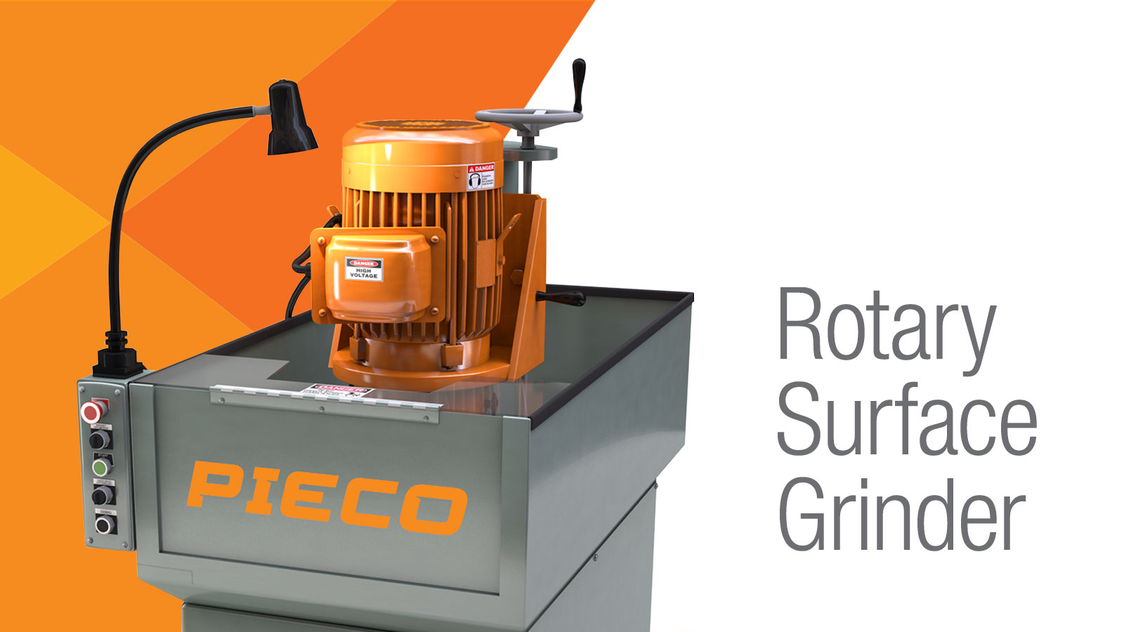 PIECO Rotary Surface Grinder home page graphic